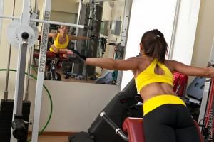 Тренировка в зале, Москва, пауэрлифтинг